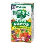 明治KAGOME野菜生活100 1日分の緑黄色野菜 125ml